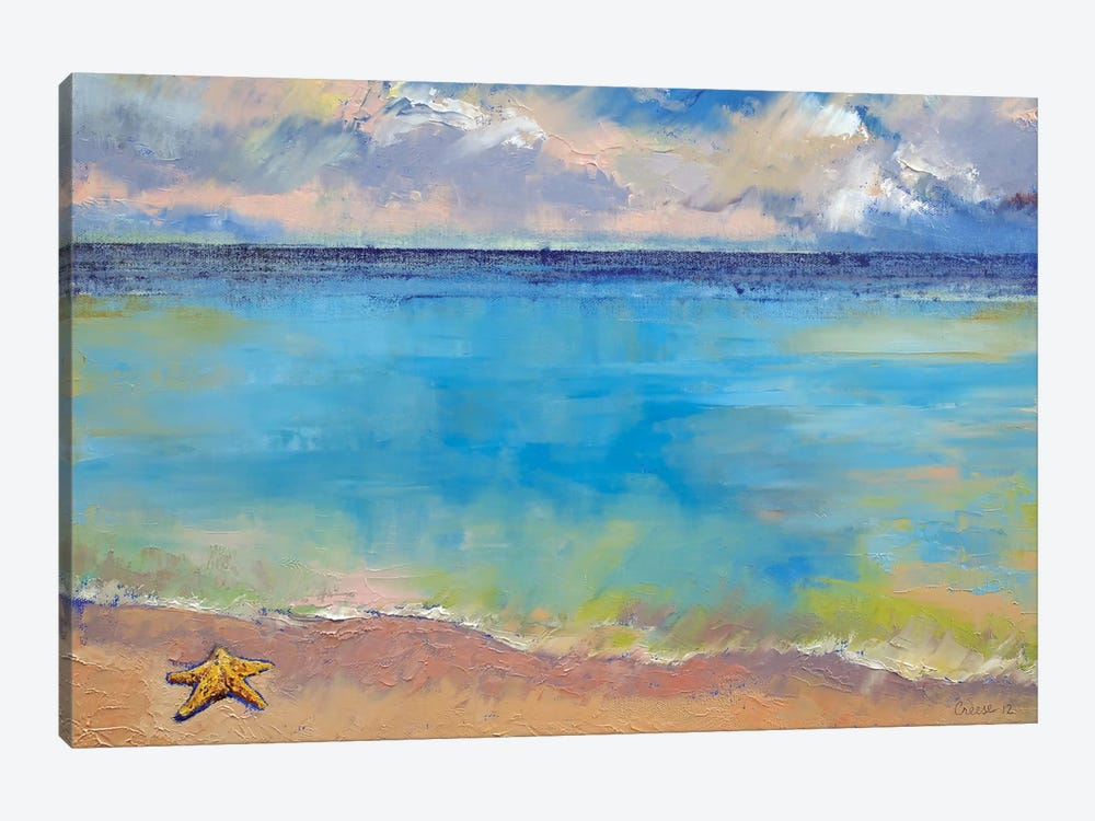 Starfish by Michael Creese 1-piece Canvas Print