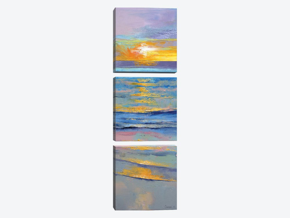 Sunset by Michael Creese 3-piece Art Print