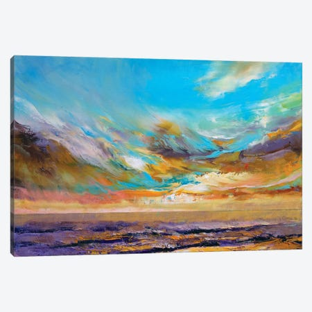 Tahitian Sunset Canvas Print #MCR136} by Michael Creese Canvas Art