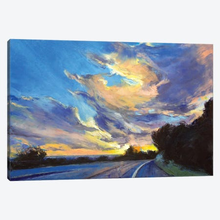 The Road To Sunset Beach Canvas Print #MCR139} by Michael Creese Canvas Art Print