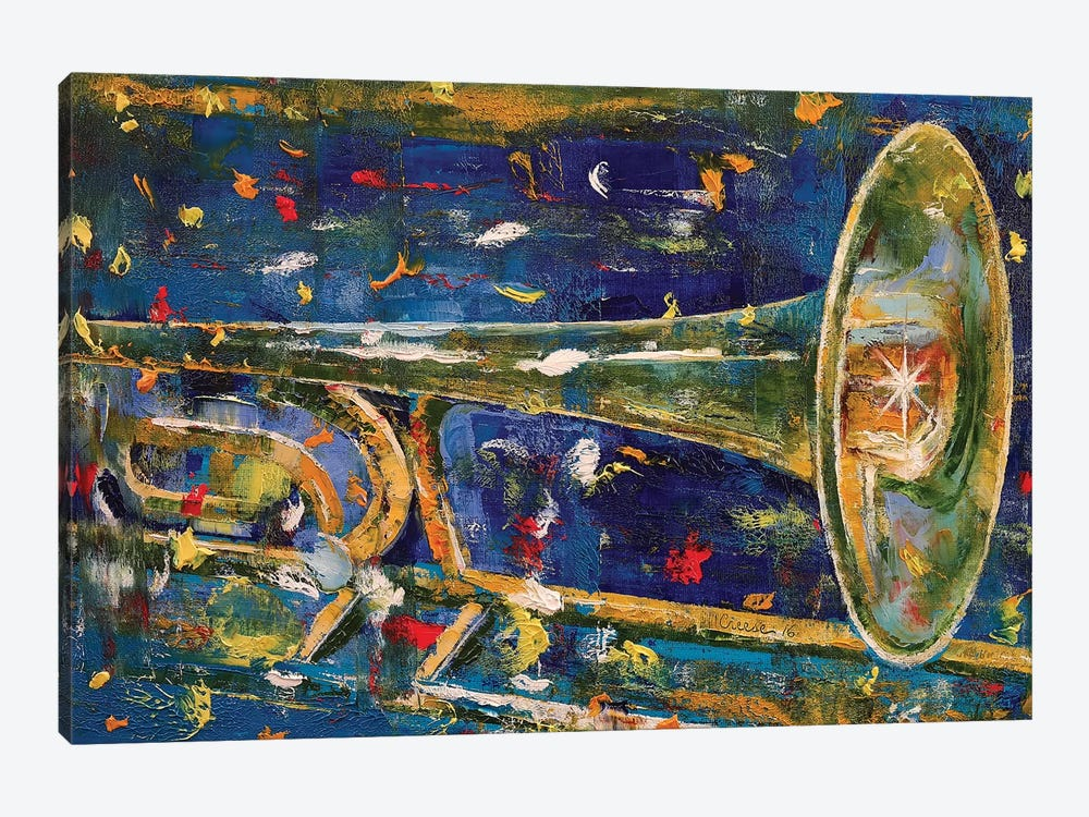 Trombone by Michael Creese 1-piece Canvas Wall Art