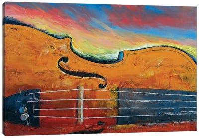 Violin Canvas Print #MCR143