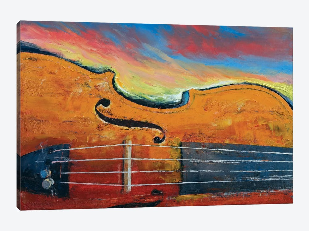 Violin by Michael Creese 1-piece Canvas Print