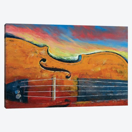 Violin Canvas Print #MCR143} by Michael Creese Canvas Artwork