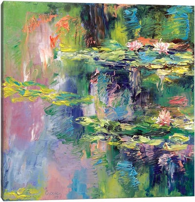 Water Lilies Canvas Print #MCR144