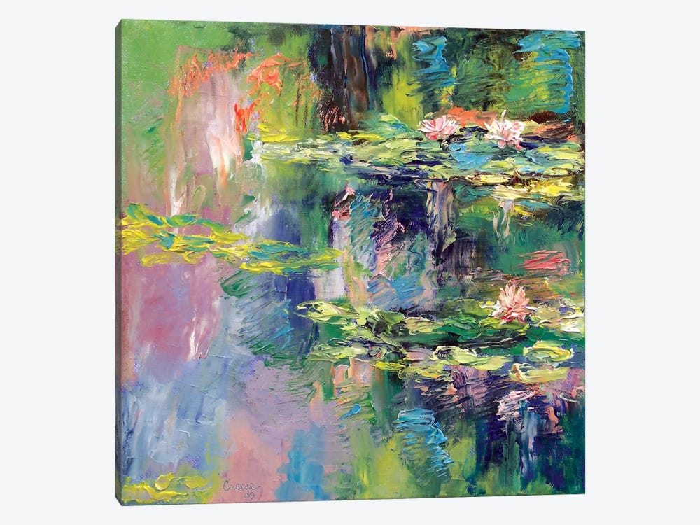 Water Lilies by Michael Creese 1-piece Canvas Art
