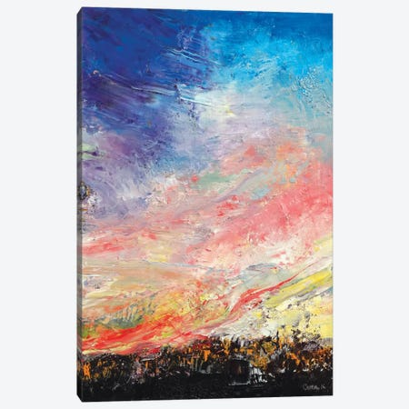Wildfire Canvas Print #MCR146} by Michael Creese Canvas Print