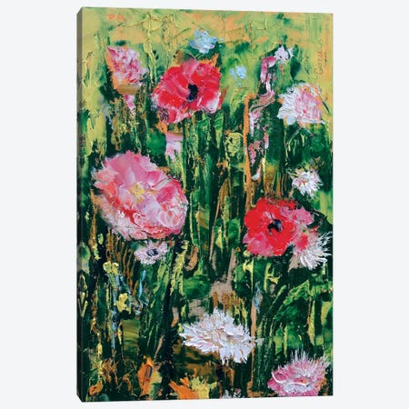 Wildflowers Canvas Print #MCR148} by Michael Creese Canvas Artwork
