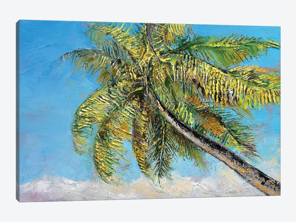 Windy Palm by Michael Creese 1-piece Art Print