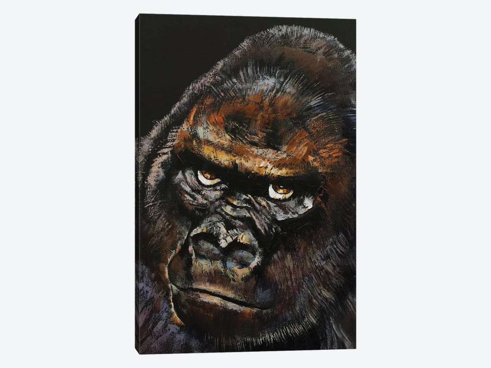 Gorilla by Michael Creese 1-piece Canvas Art Print