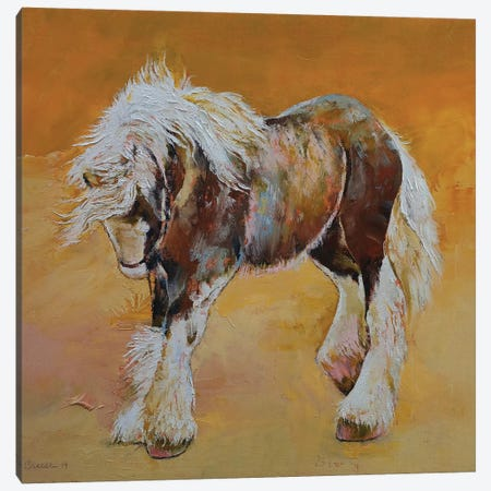 Gypsy Pony Canvas Print #MCR159} by Michael Creese Art Print