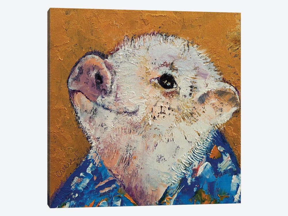Little Piggy by Michael Creese 1-piece Canvas Artwork