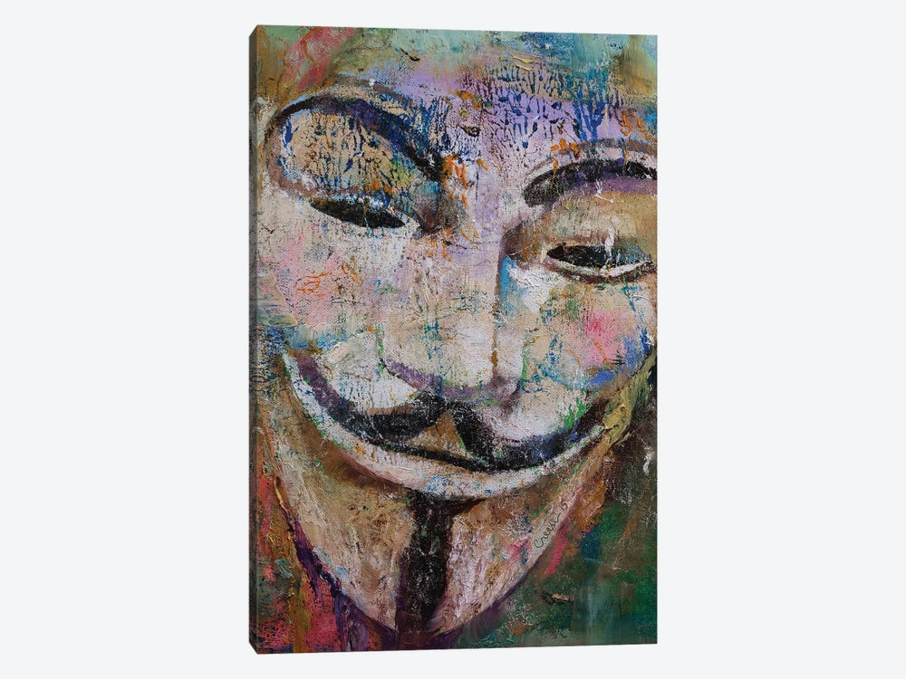 Anonymous  by Michael Creese 1-piece Art Print