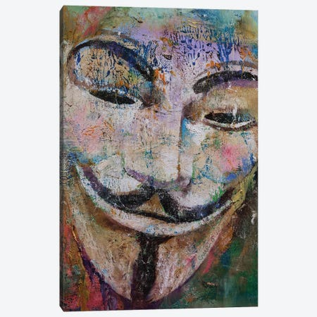 Anonymous  Canvas Print #MCR163} by Michael Creese Canvas Wall Art