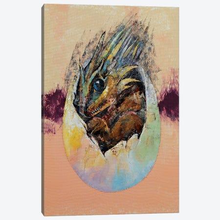 Baby Dragon  Canvas Print #MCR165} by Michael Creese Canvas Art Print