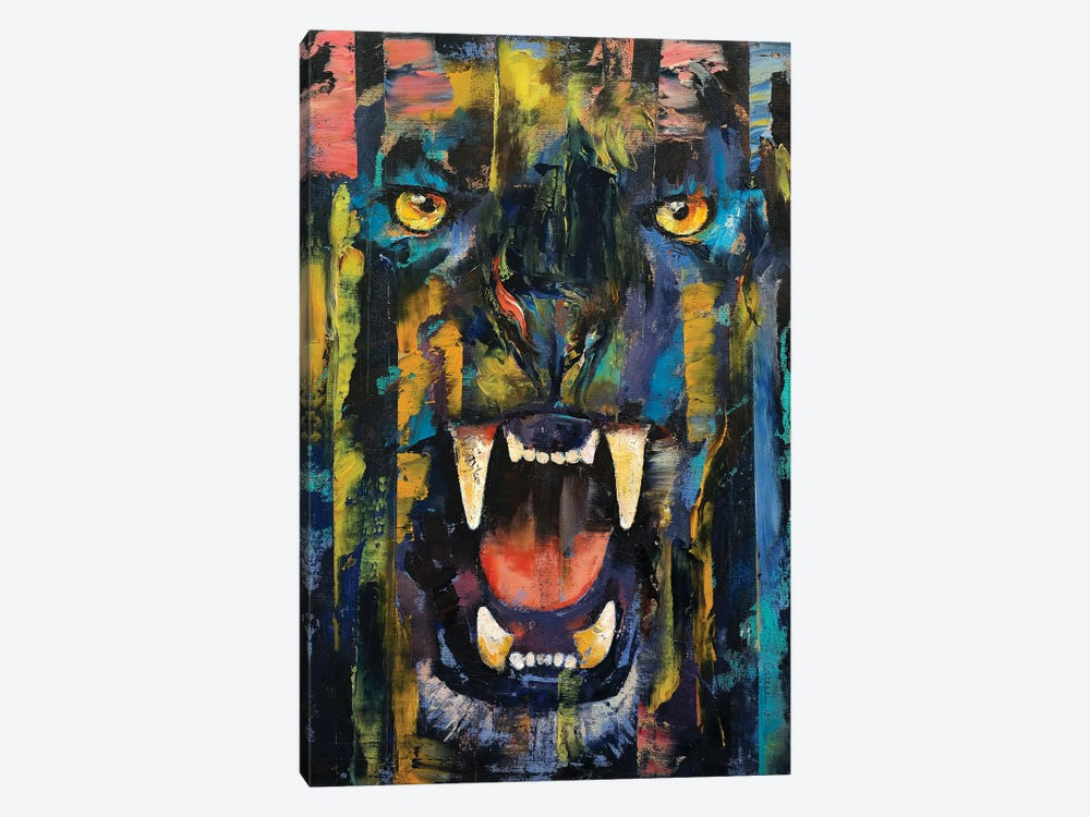 Black Panther  by Michael Creese 1-piece Canvas Wall Art