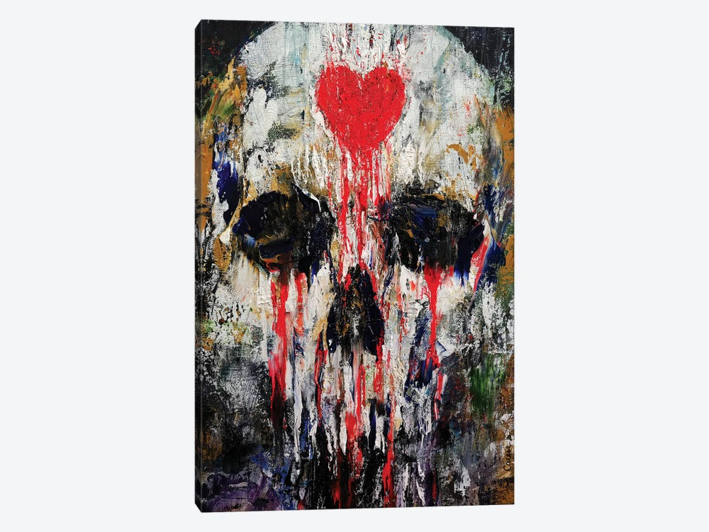Bleeding Heart  by Michael Creese 1-piece Canvas Art Print