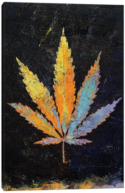 Cannabis  Canvas Art Print