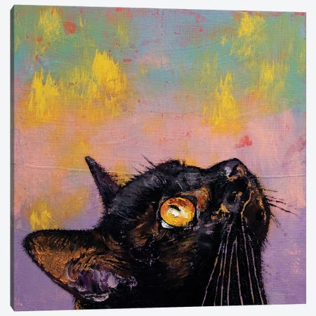 Fixed Gaze  Canvas Print #MCR180} by Michael Creese Canvas Art