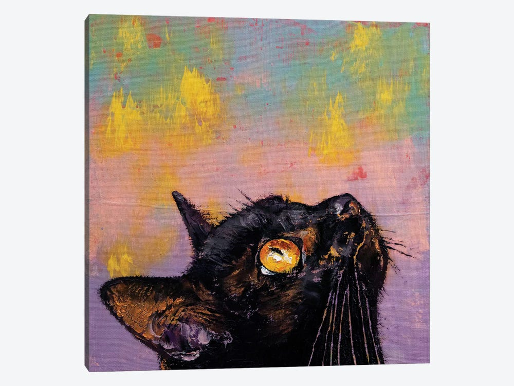 Fixed Gaze  by Michael Creese 1-piece Canvas Wall Art