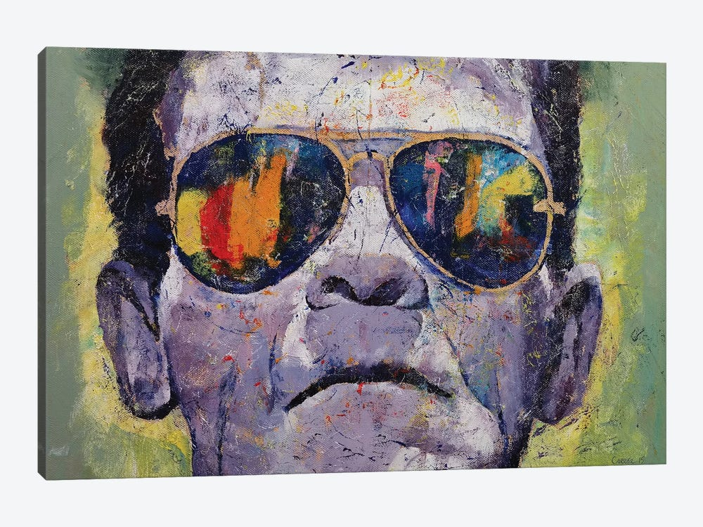 Frankenstein  by Michael Creese 1-piece Canvas Print