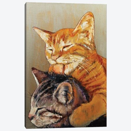 Friends  3-Piece Canvas #MCR182} by Michael Creese Canvas Art