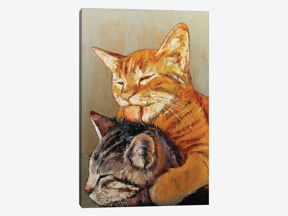 Friends  by Michael Creese 1-piece Canvas Art
