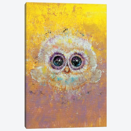 Hoot  Canvas Print #MCR185} by Michael Creese Canvas Print