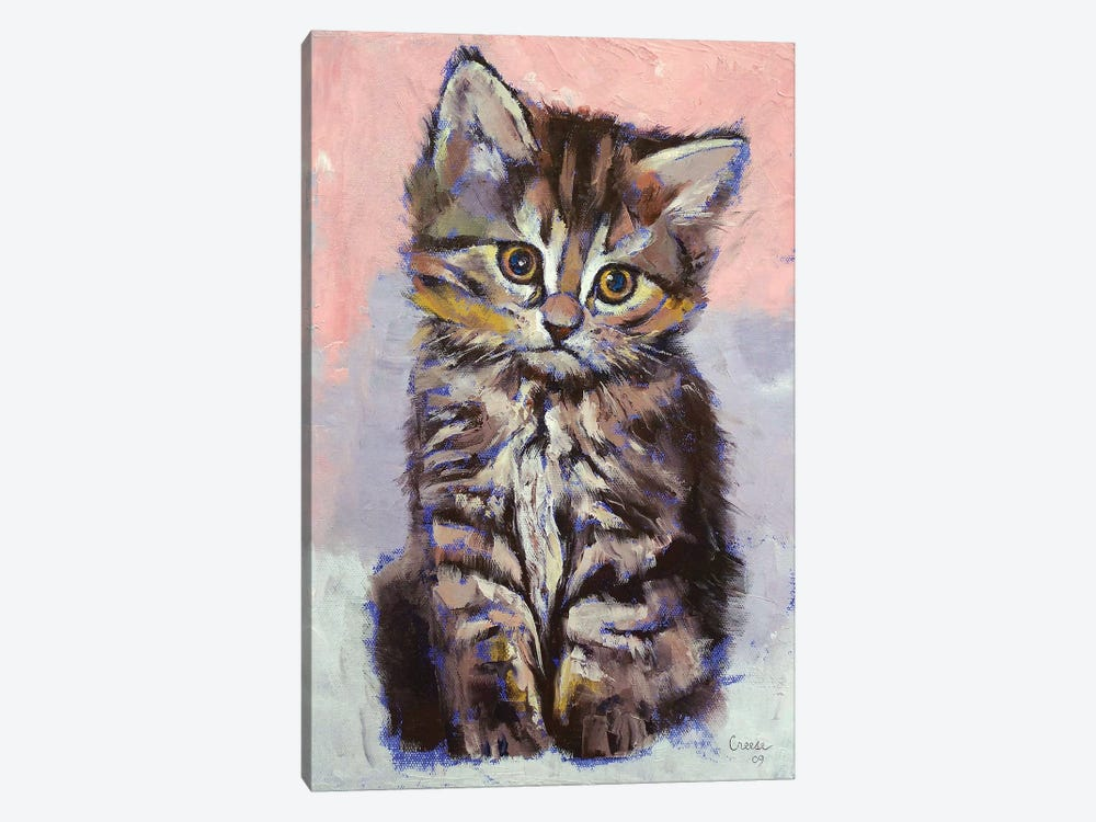 Kitten  by Michael Creese 1-piece Canvas Artwork