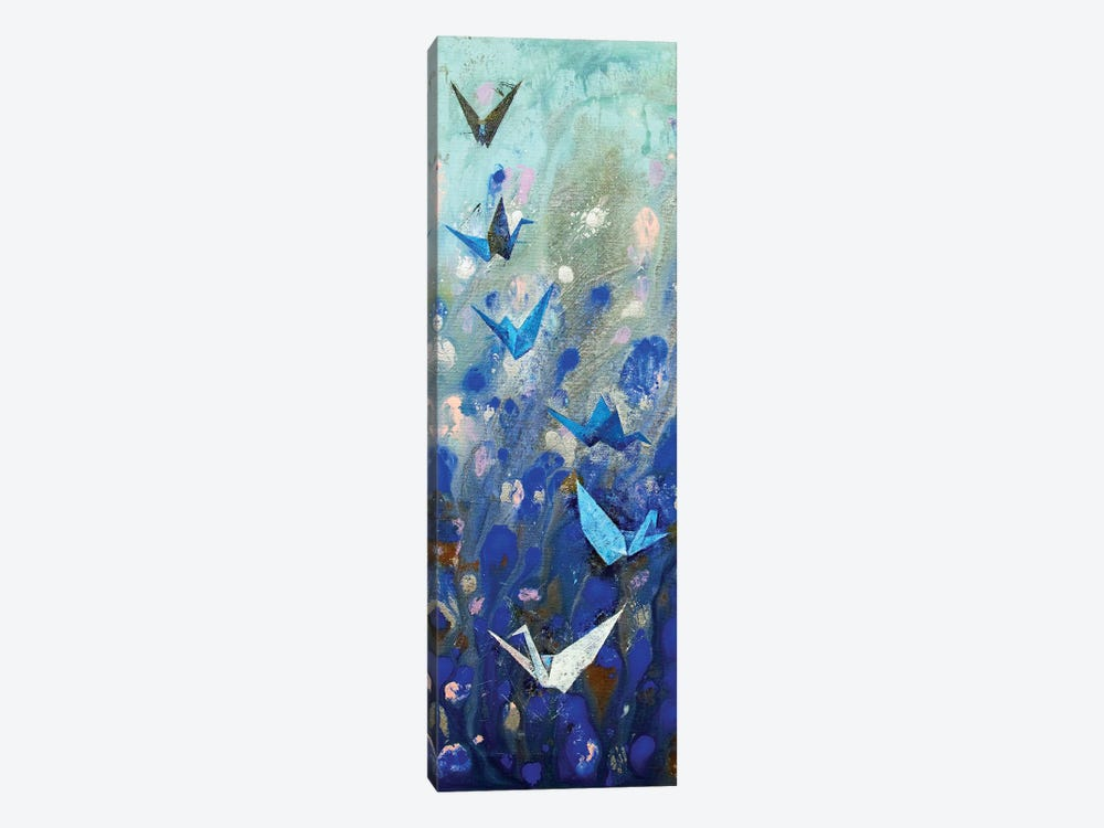 Origami Cranes Canvas Wall Art By Michael Creese Icanvas