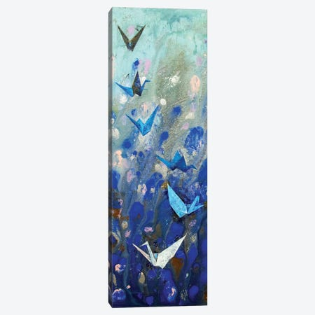 Origami Cranes  3-Piece Canvas #MCR193} by Michael Creese Canvas Art Print