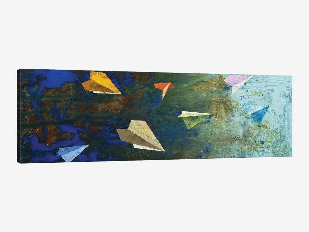 Paper Airplanes  by Michael Creese 1-piece Art Print
