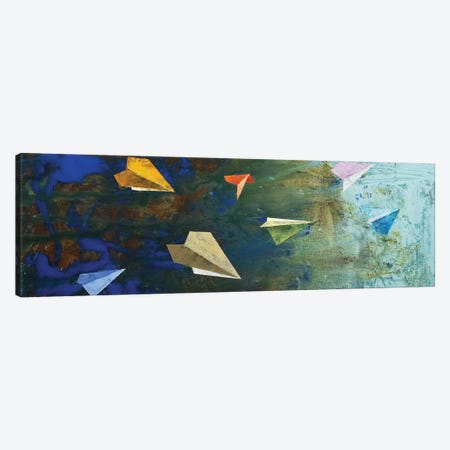 Paper Airplanes  Canvas Print #MCR196} by Michael Creese Canvas Art