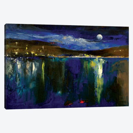 Blue Nocturne Canvas Print #MCR19} by Michael Creese Canvas Print