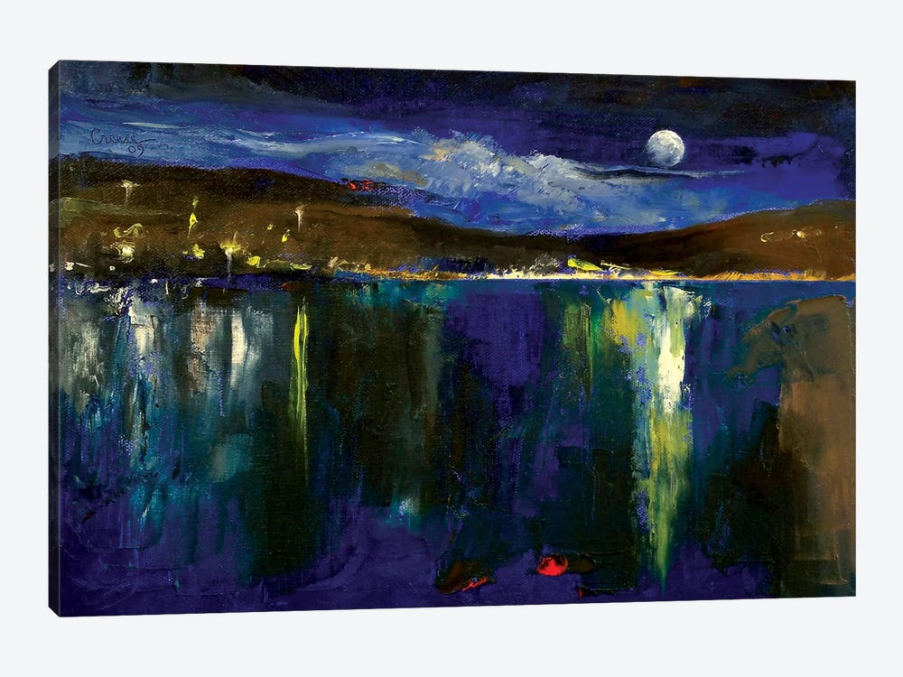 Blue Nocturne by Michael Creese 1-piece Canvas Art Print