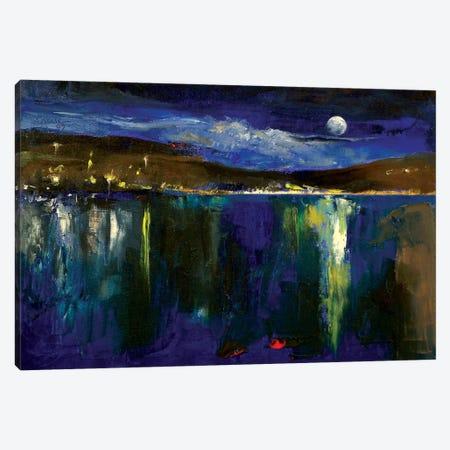 Blue Nocturne Canvas Print #MCR19} by Michael Creese Canvas Print