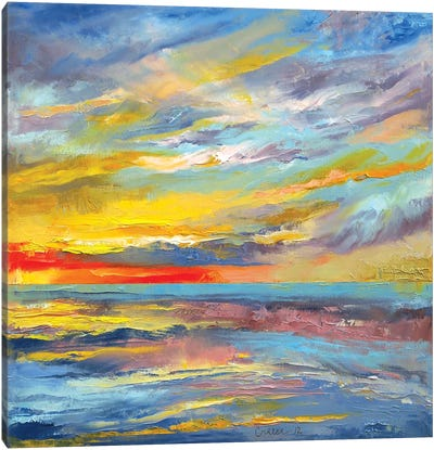Abstract Canvas Print #MCR1
