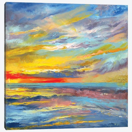 Abstract Canvas Print #MCR1} by Michael Creese Canvas Artwork
