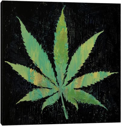 Pot Leaf  Canvas Art Print