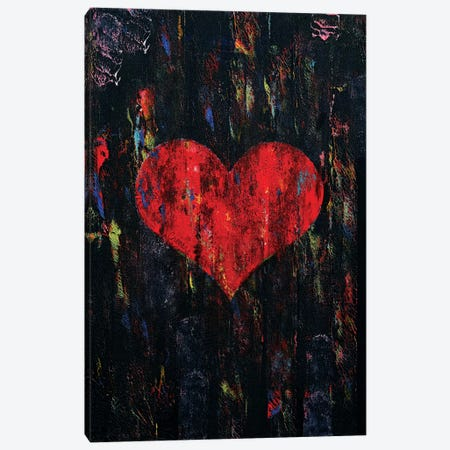Red Heart  Canvas Print #MCR203} by Michael Creese Art Print