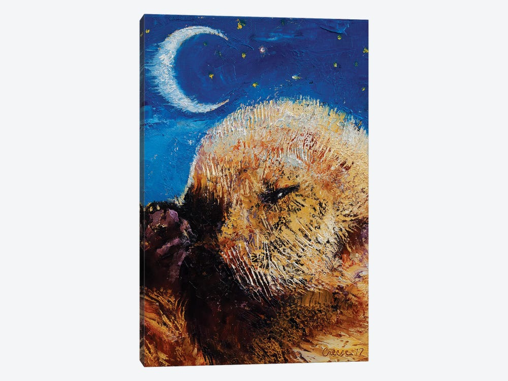 Sea Otter Pup  by Michael Creese 1-piece Canvas Wall Art