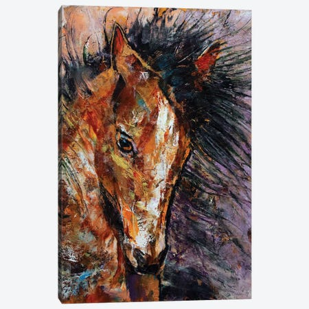 Shōgun Colt  Canvas Print #MCR207} by Michael Creese Canvas Wall Art