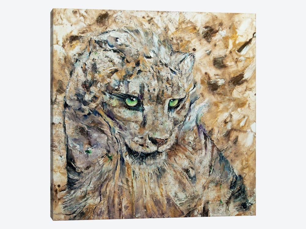 Snow Leopard  by Michael Creese 1-piece Canvas Print
