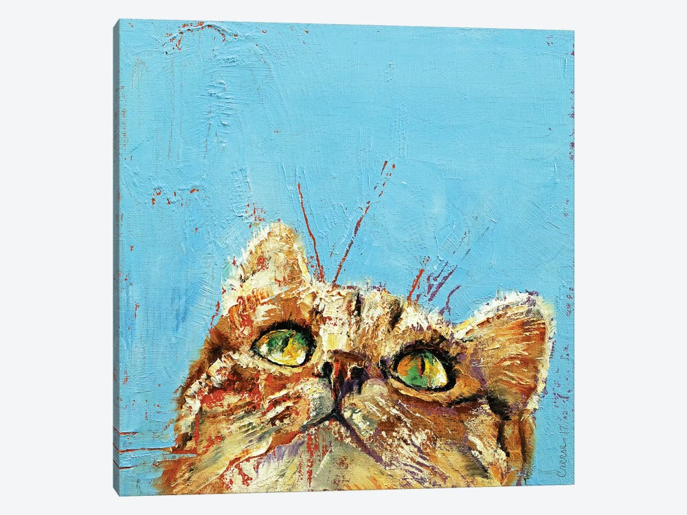 Tomcat  by Michael Creese 1-piece Canvas Art Print