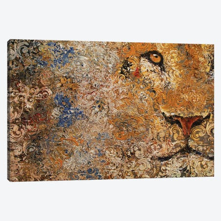 Barbary Lion Canvas Print #MCR215} by Michael Creese Canvas Print
