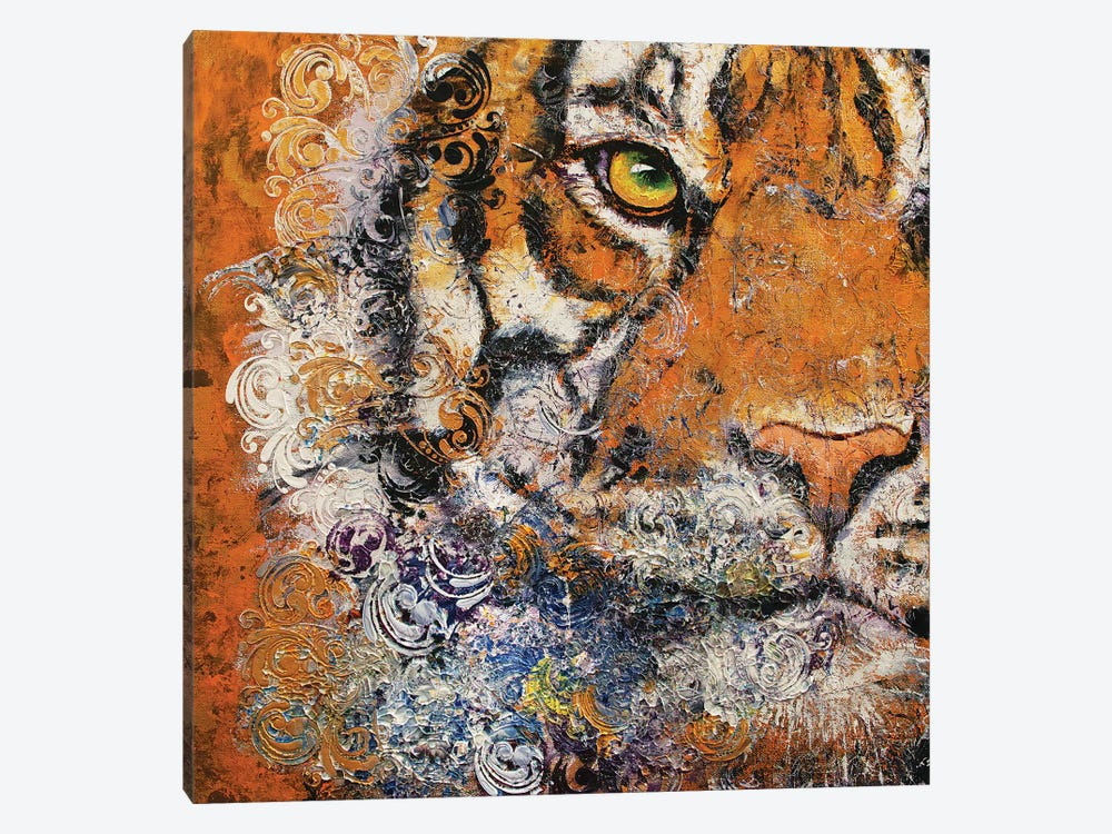 Royal Tiger by Michael Creese 1-piece Canvas Art