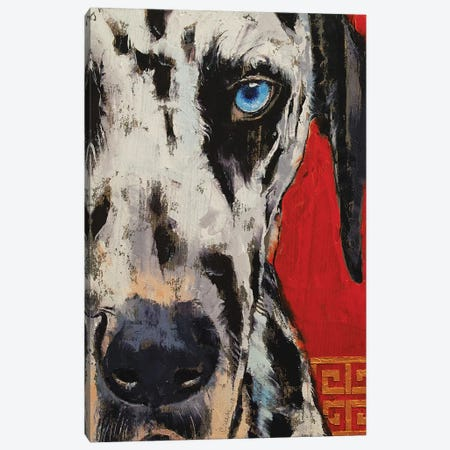 Dalmatian Canvas Print #MCR224} by Michael Creese Canvas Wall Art