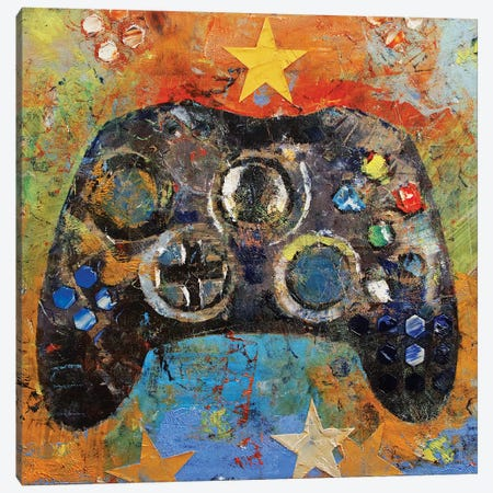 Game Controller Canvas Print #MCR227} by Michael Creese Canvas Art
