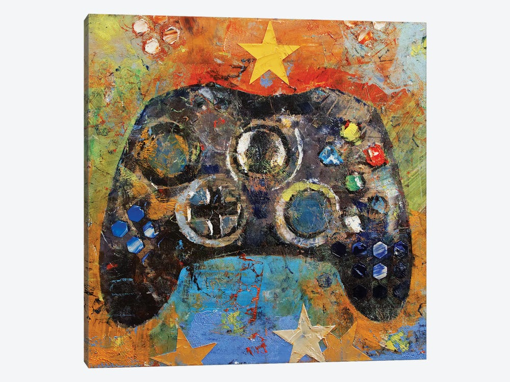 Game Controller by Michael Creese 1-piece Art Print