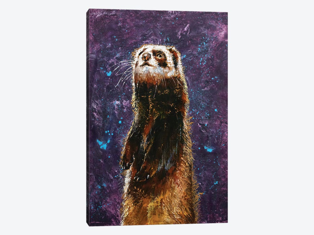 Sable Ferret by Michael Creese 1-piece Canvas Artwork